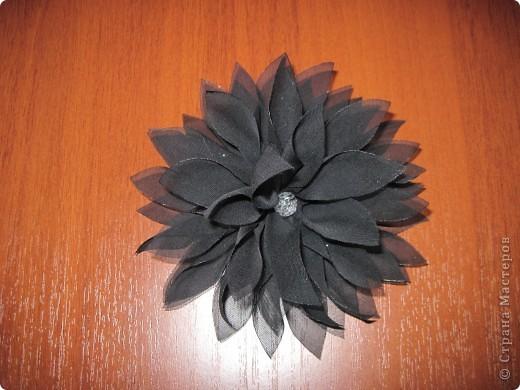 Цветы-брошь фото 5