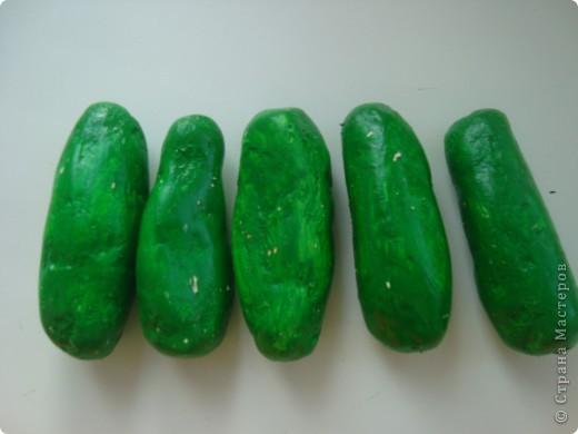 Овощи из папье-маше. фото 2
