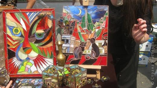 Герб Одессы из цветов фото 6