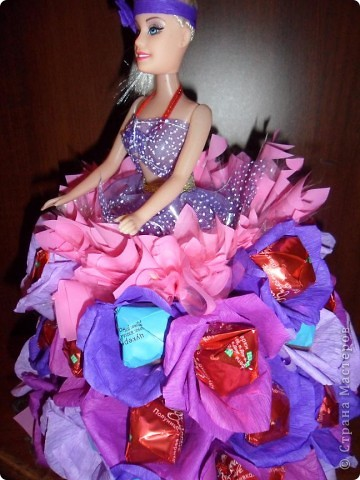 Мне очень понравились работы и мастер-класс Свет9 с куклами, а тут как раз и повод подвернулся. И я решила попробовать сделать такую куклу. Спасибо огромное Свет9 http://stranamasterov.ru/node/229886?c=favorite фото 4