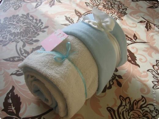 Тортик из полотенец фото 2