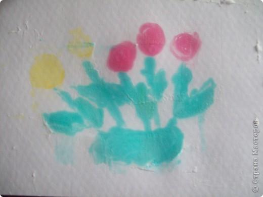 Татьяна Николаевна дала интересную идею-рисование на пене!!!! Ну разве можно не попробовать!!!! Вот такие картинки у меня получились. фото 5