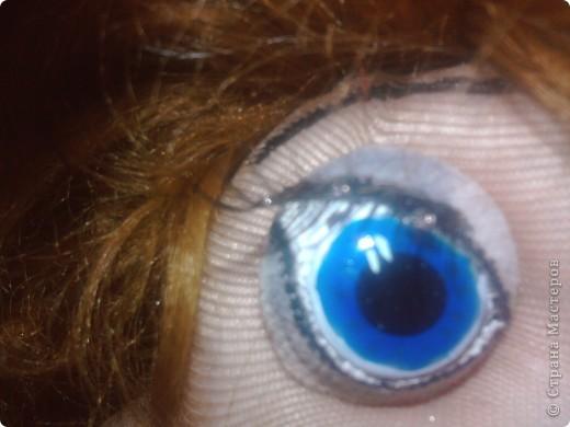 Вот такие глазки я сделала при помощи витражных красок прилипал,незнаю может быть и до меня так же делал, фото 3