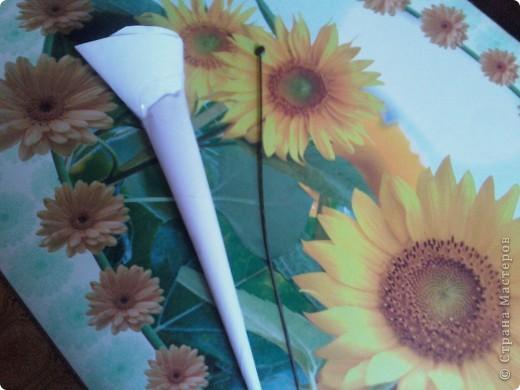 Во первых самое главное-это инструменты, в моём случае-это кулёчки из бумаги один узкий и длинный,а второй толстенький фото 6