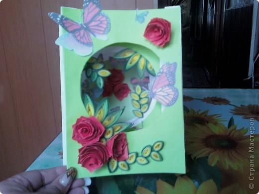 вот такая открыточка получилась фото 1