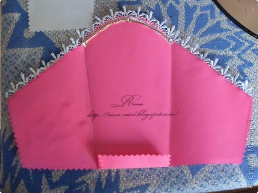 Открытка конверт фото 4