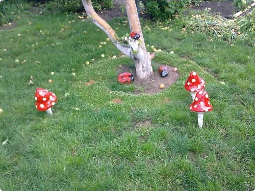 Вот такие фигурки в сад смастерила)))) сказочная полянка фото 1