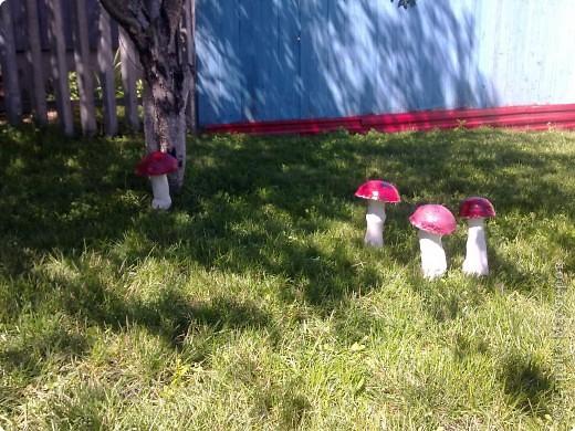 Вот такие фигурки в сад смастерила)))) сказочная полянка фото 5