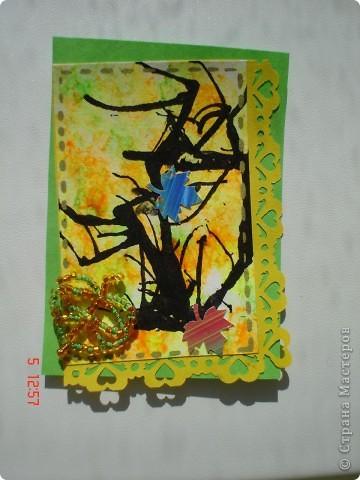 """Продолжение """"Осенней поры"""", сделана для тех кому должна. Фото не удачные. Цвет не реальный. фото 2"""