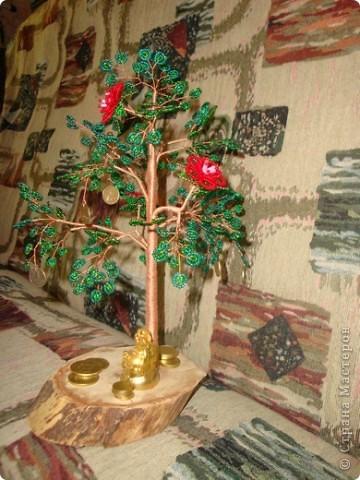 27 августа у нас случилось радостное событие! Свадьба сына. Кроме денег подарила им такое денежное дерево. фото 2