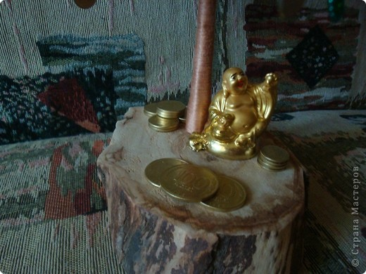 27 августа у нас случилось радостное событие! Свадьба сына. Кроме денег подарила им такое денежное дерево. фото 3