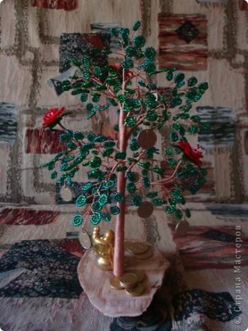 27 августа у нас случилось радостное событие! Свадьба сына. Кроме денег подарила им такое денежное дерево. фото 5