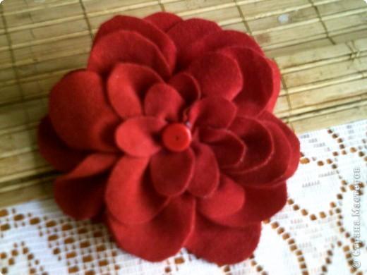 цвете брошка фото 3