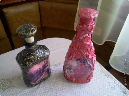 Бутылка с трканью фото 3
