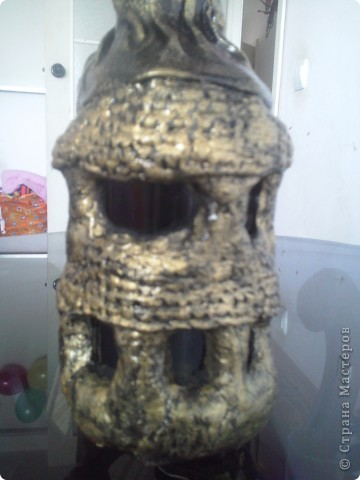 Бутылка кожей фото 4