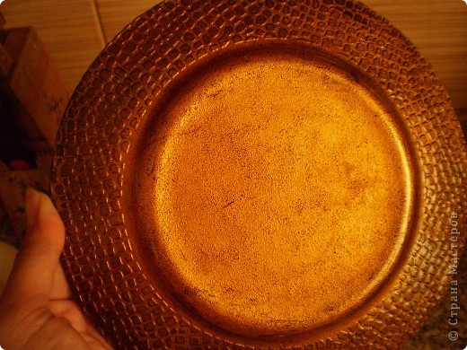 Первая моя тарелочка, возможно в чем-то повторюшка фото 3