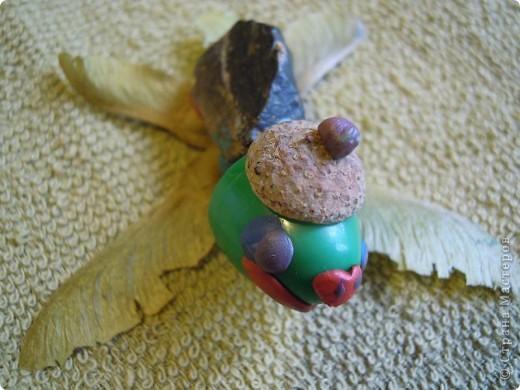 Дочь 6,5 лет лепила эту лису сама. фото 6