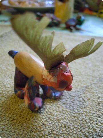 Дочь 6,5 лет лепила эту лису сама. фото 13