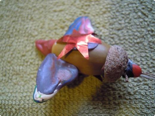 Дочь 6,5 лет лепила эту лису сама. фото 16