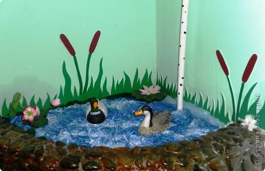 Озеро в интерьере детского сада