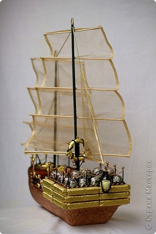 Юбилейный корабль! Работа в 6 рук (я, мой муж и сестра) фото 2