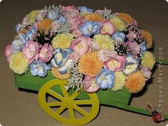 Візочок з квітами))) фото 2
