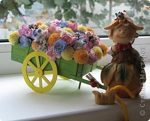 Візочок з квітами))) фото 4