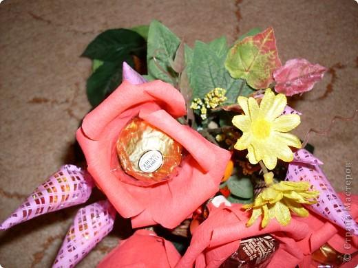 Вот такой рог изобилия был подарен на День 70-летия моей дорогой бабуле! фото 5