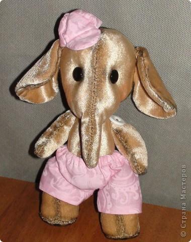 Опять прибавление в моей семье, это Коля, шился специально для того что бы опробовать тонировку, думала что испорчу но мне так не покозалась. Как вы думаете? фото 1