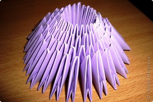 Любимых героев моего маленького сына можно сделать в технике модульного оригами. В основе всех фигурок лежит круг из 24 модулей (размер модулей 1/16) фото 3