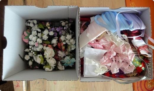 С начала лета начала заказывать себе материал для скрапбукинга. Вот сегодня пришла последняя посылка и я решила ... похвастаться)))  Цветочки,  цветочный микс, брадс, чипборд, двухстороний скотч, пуговички, бусины на леске фото 21