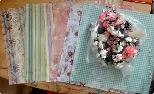 С начала лета начала заказывать себе материал для скрапбукинга. Вот сегодня пришла последняя посылка и я решила ... похвастаться)))  Цветочки,  цветочный микс, брадс, чипборд, двухстороний скотч, пуговички, бусины на леске фото 17