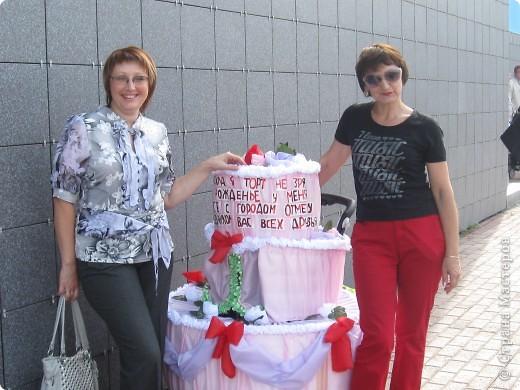 Наш торт - коляска готов фото 2