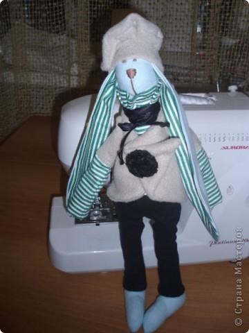 Зайцы, зайцы, зайцы..... Не могу от них оторваться! Два друга с одинаковыми ушами и мечтательными мордочками. фото 6