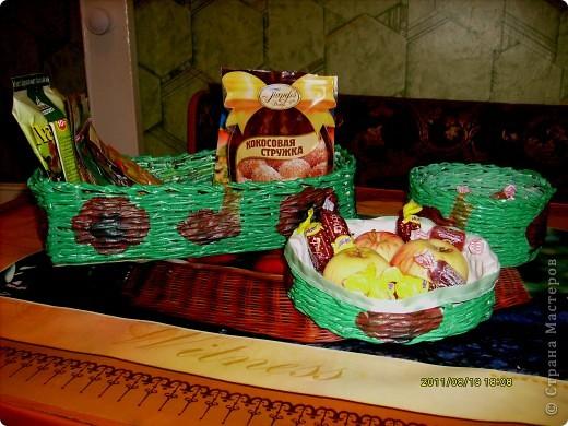 """наборчик для кухни: конфетница, """"печенюшница """" и """"приправница"""" :))))))) ( это я их так ласково назвала :) , хотя с предметами я обычно не разговариваю конечно :)))))0 фото 1"""