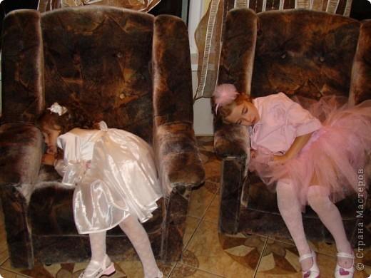 Вот и у моей принцессы есть юбка-пачка и обруч в копмлект к ней.  Хорошо, что был хороший повод - сестра моего мужа выходила замуж. фото 5
