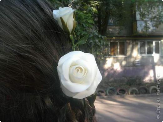 Решила к 1 сентября старшей доченьке сделать подарок, заколку, чтобы была самая-самая красивая. фото 2