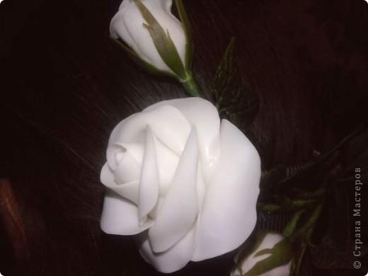 Решила к 1 сентября старшей доченьке сделать подарок, заколку, чтобы была самая-самая красивая. фото 4