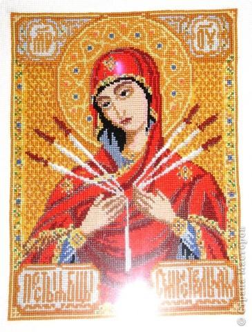 Икона Богоматери Семистрельной фото 2