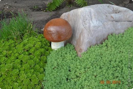 Вот такие грибы у меня получились. Шляпка это миска а ножка бутылка. фото 1