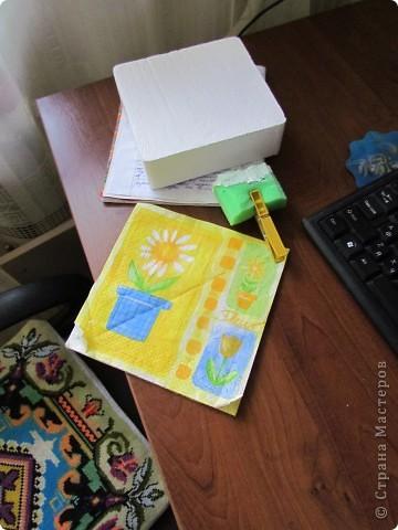 была у меня коробочка из пенопласта, которая составляла упаковку для фонарика... фото 2