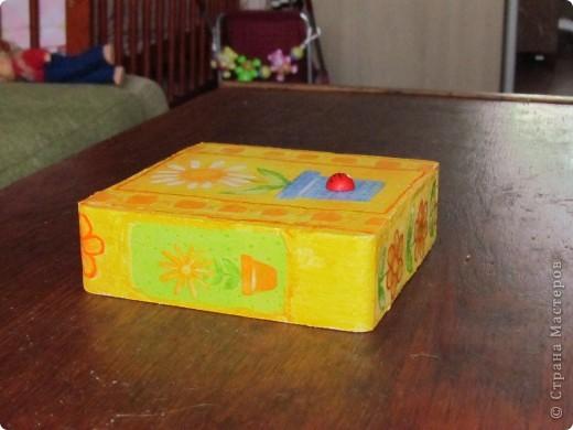 была у меня коробочка из пенопласта, которая составляла упаковку для фонарика... фото 4