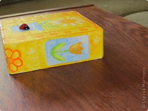 была у меня коробочка из пенопласта, которая составляла упаковку для фонарика... фото 5