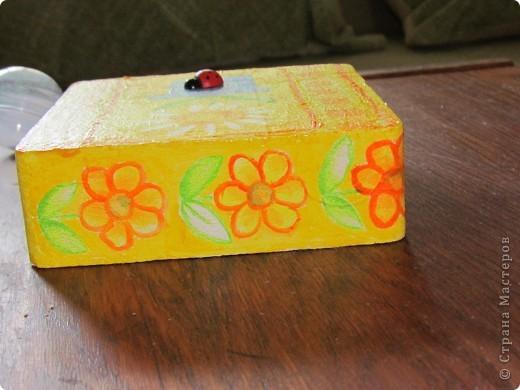 была у меня коробочка из пенопласта, которая составляла упаковку для фонарика... фото 6