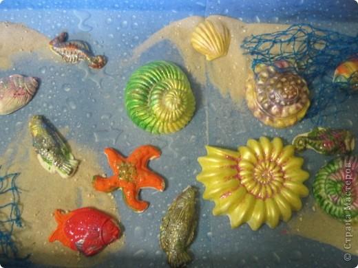 Вот такой подводный мир  создали  мы с детками (3-6 лет) фото 1