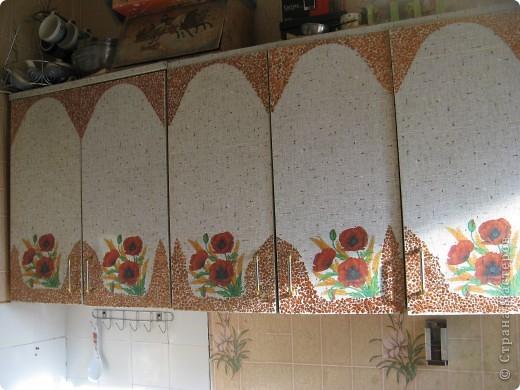 Вот так обновила кухонную мебель. фото 4