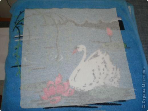 Берем последний слой салфетки и проглаживаем его утюгом. фото 1