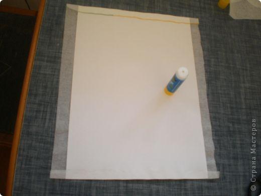 Берем последний слой салфетки и проглаживаем его утюгом. фото 2