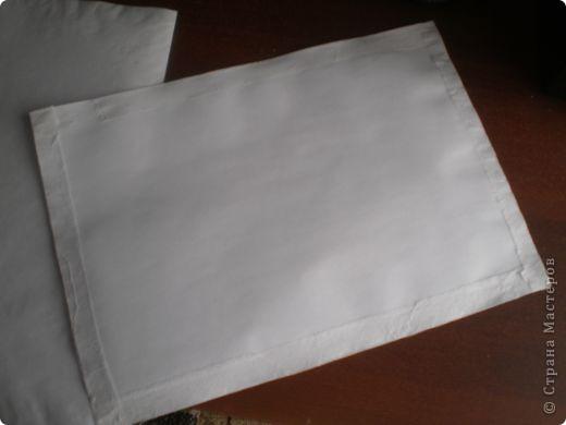 Берем последний слой салфетки и проглаживаем его утюгом. фото 4