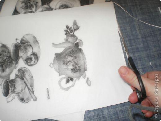 Берем последний слой салфетки и проглаживаем его утюгом. фото 6
